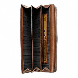 Bleecker Leather Travel Wallet
