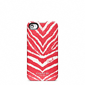 ZEBRA PRINT IPHONE 4 CASE
