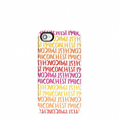 Double Stripe Scarf Print Iphone 4 Case