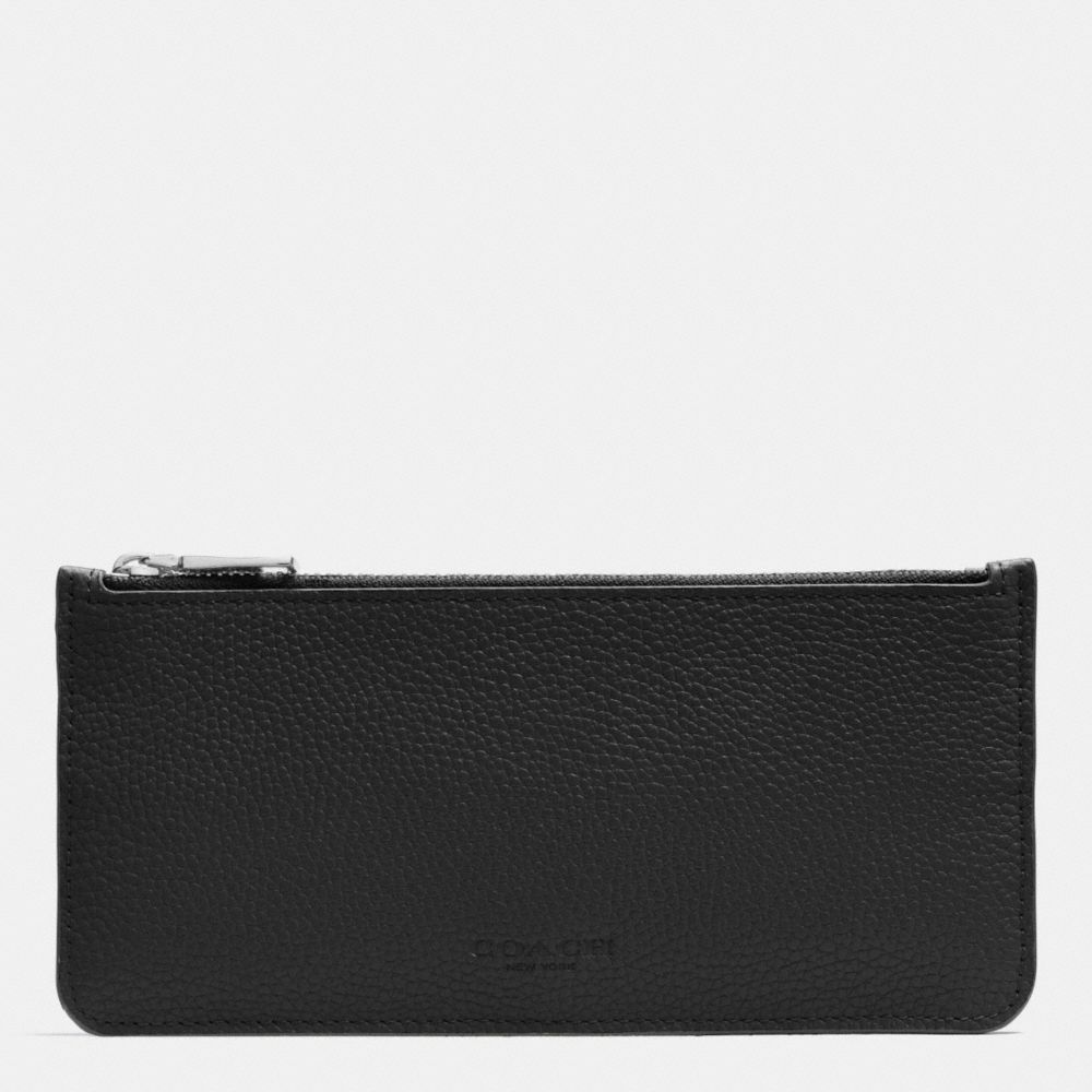 Messenger With Pop-Up Pouch in Colorblock Leather - Alternate View A3