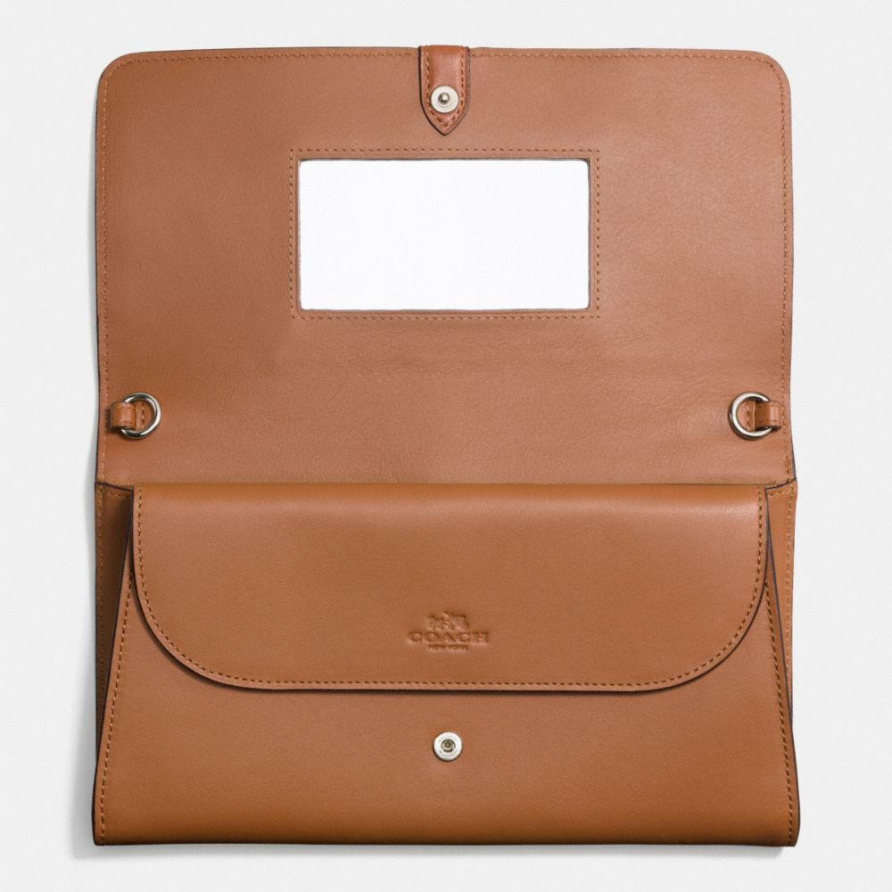 Coach Nomad Crossbody Clutch in Glovetanned Leather - Alternate View A3