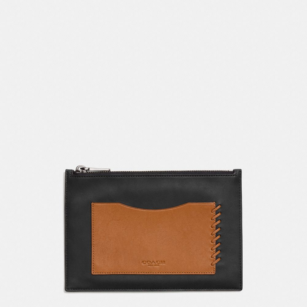 RIP AND REPAIR TECH ENVELOPE CASE IN SPORT CALF LEATHER - Alternate View