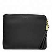 SAFFIANO LEATHER L-ZIP IPAD SLEEVE