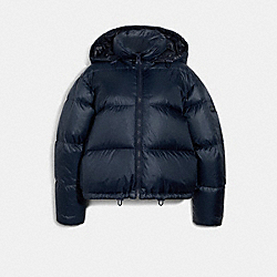 SHORT PUFFER - NAVY - COACH 6530