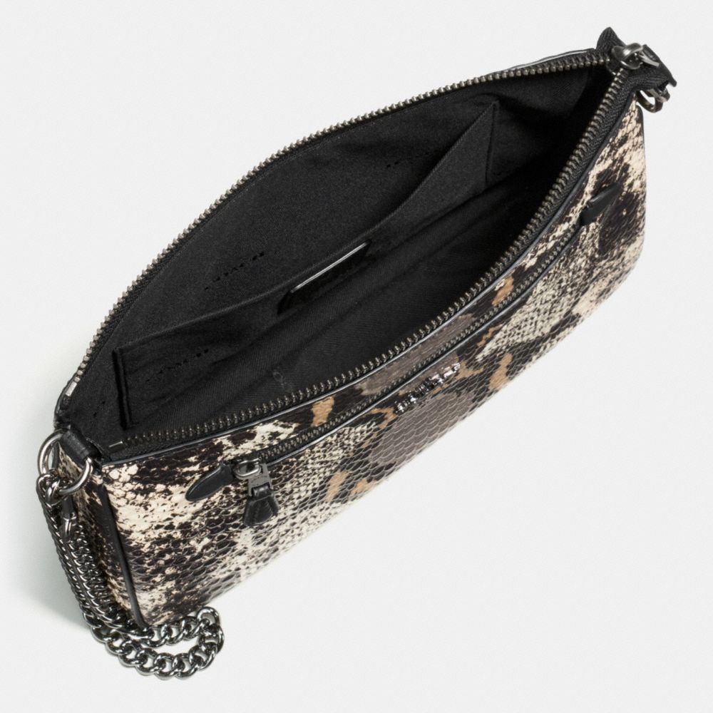 Nolita Wristlet 24 in Exotic Embossed Leather - Alternate View A1