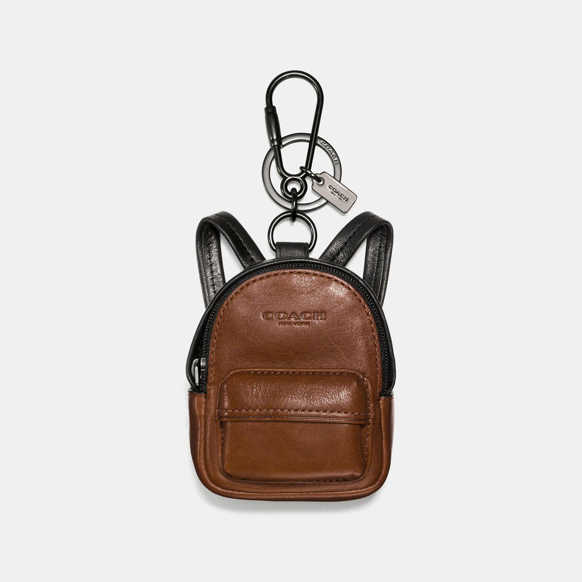 Coach Backpack Charm
