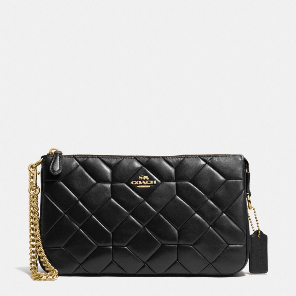 Canyon Quilt Nolita Wristlet 24 in Calf Leather