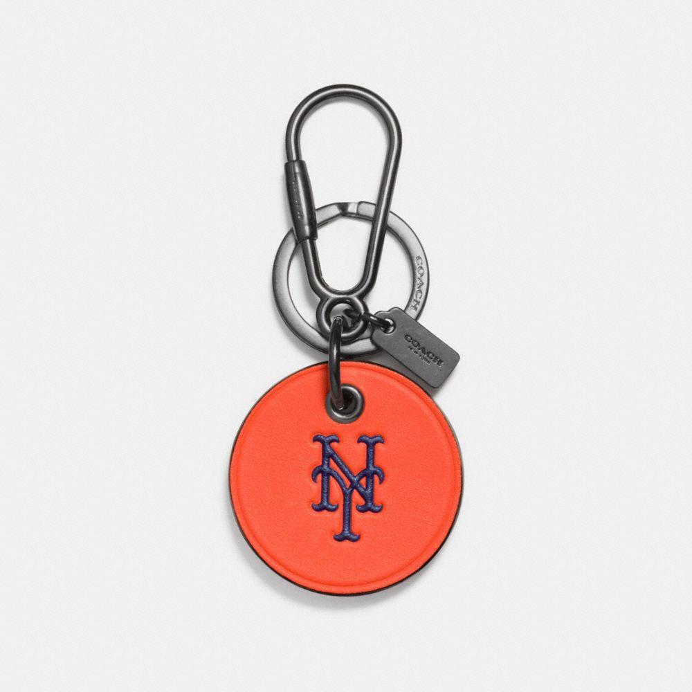 Mlb Round Logo Key Ring