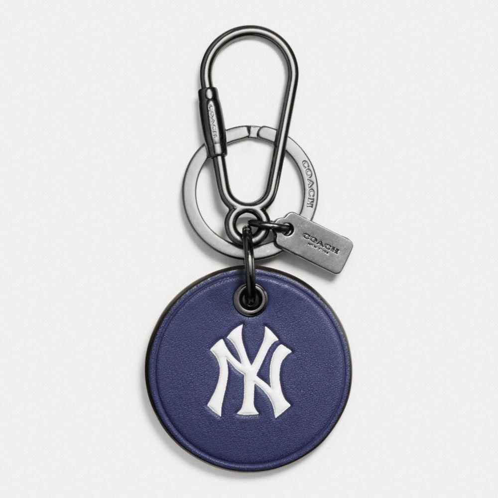 Coach Mlb Round Logo Key Ring