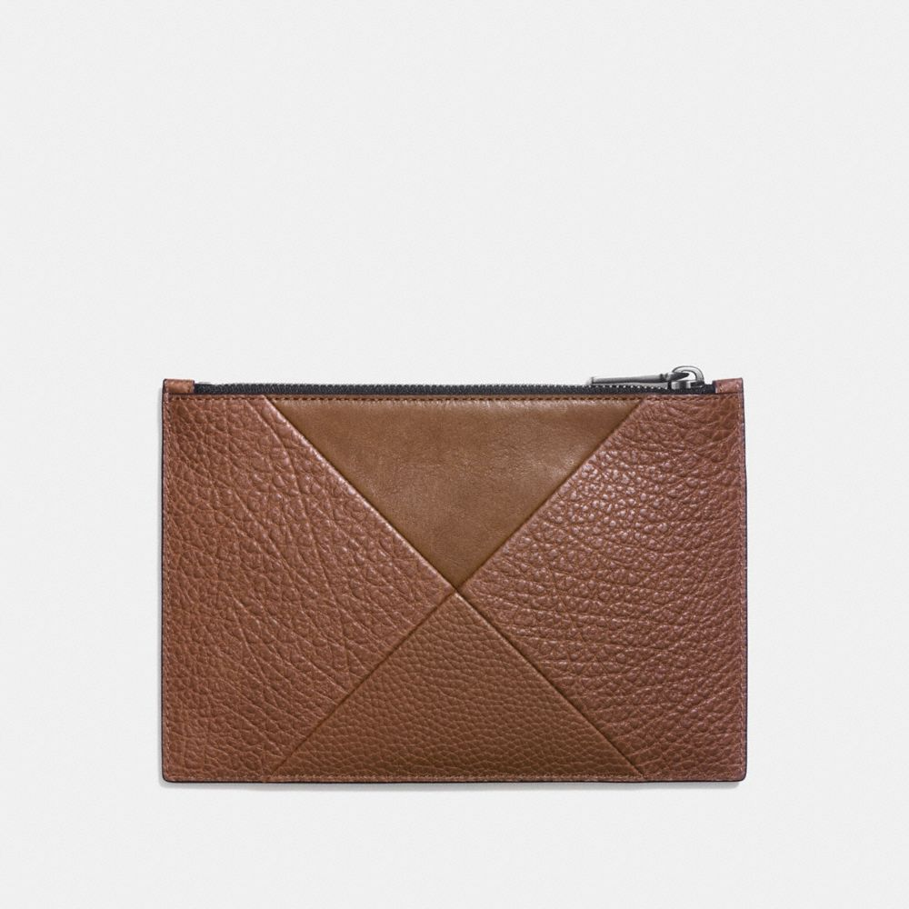 TECH ENVELOPE IN PATCHWORK LEATHER - Alternate View