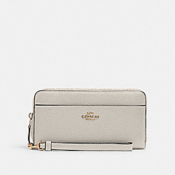 ACCORDION ZIP WALLET - IM/CHALK - COACH 6643