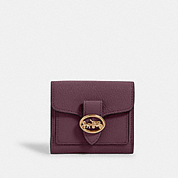 GEORGIE SMALL WALLET - IM/BOYSENBERRY - COACH 6654
