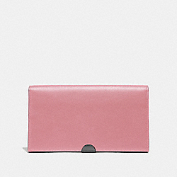 DREAMER WALLET - TRUE PINK/PEWTER - COACH 66615