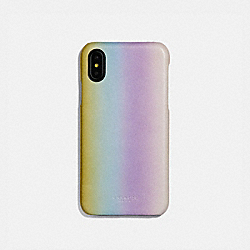 IPHONE X/XS CASE WITH OMBRE - MULTICOLOR - COACH 66651