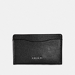 SMALL CARD CASE - BLACK - COACH 66831