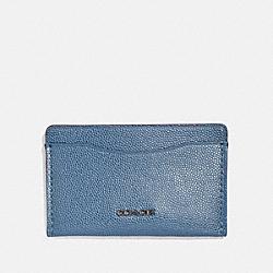 SMALL CARD CASE - LIGHT DENIM - COACH 66831