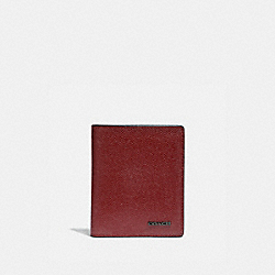 SLIM WALLET - RED CURRANT - COACH 66833