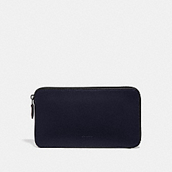 TRAVEL GUIDE POUCH - MIDNIGHT - COACH 66866