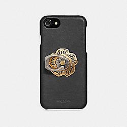 TEA ROSE PHONE GRIP - GD/GOLD - COACH 67407