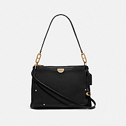 DREAMER SHOULDER BAG - GD/BLACK - COACH 67932