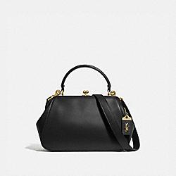 FRAME BAG - BLACK/BRASS - COACH 68136