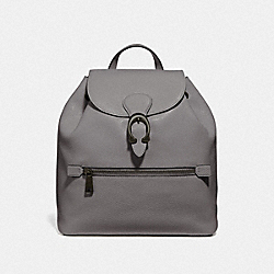 EVIE BACKPACK - V5/HEATHER GREY - COACH 68380