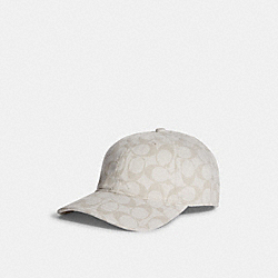 SIGNATURE HAT - CHALK - COACH 68403
