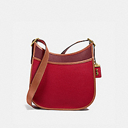EMERY CROSSBODY IN COLORBLOCK - B4/RED APPLE MULTI - COACH 688