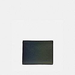SLIM BILLFOLD WALLET - OLIVE/NAVY - COACH 68974