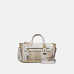 SHUFFLE IN COLORBLOCK - IVORY MULTI/BRASS - COACH 69141