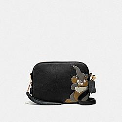 DISNEY X COACH CAMERA BAG WITH THUMPER - GD/BLACK - COACH 69253