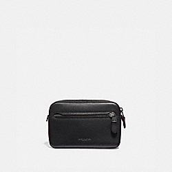 METROPOLITAN SOFT BELT BAG - BLACK/BLACK ANTIQUE NICKEL - COACH 69354