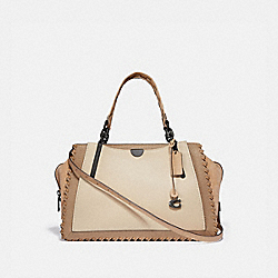 DREAMER 36 IN COLORBLOCK WITH WHIPSTITCH - IVORY MULTI/PEWTER - COACH 69613