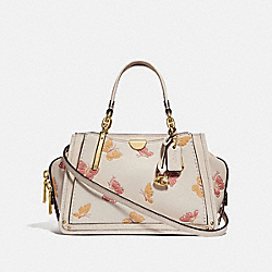 DREAMER 21 WITH BUTTERFLY PRINT - CHALK/GOLD - COACH 69627