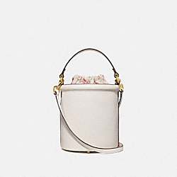 DRAWSTRING BUCKET BAG - CHALK/GOLD - COACH 69653