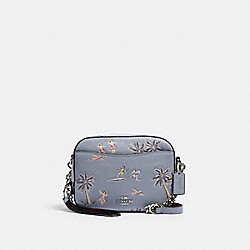 CAMERA BAG WITH HAWAIIAN PRINT - SV/MIST - COACH 69666