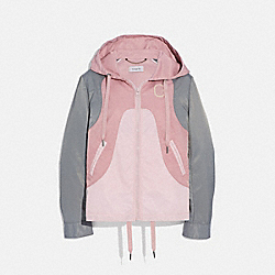 WESTERN WINDBREAKER - PINK MULTI - COACH 69888