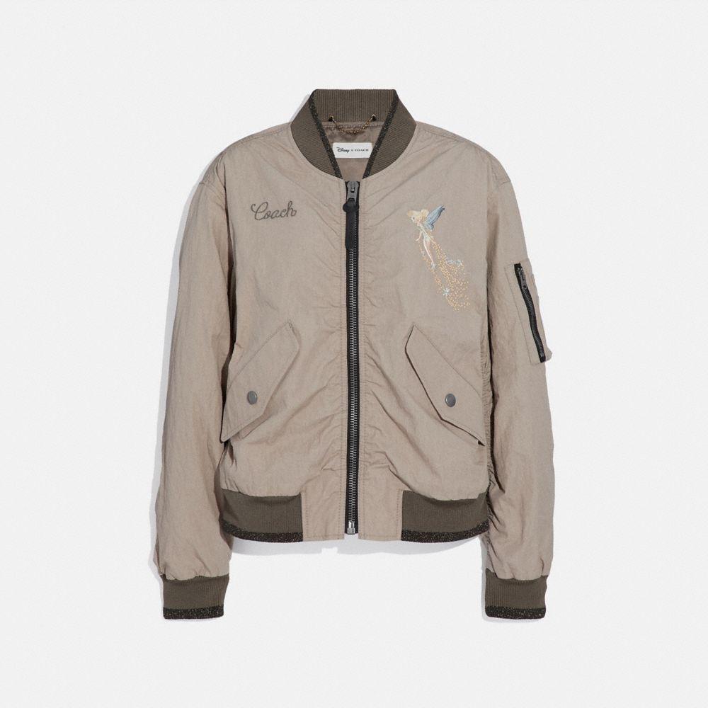 디즈니 X 코치 MA-1 자켓