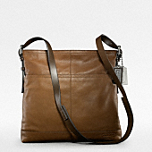 Thompson Leather Large Zip Top Crossbody