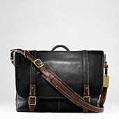 HARRISON LEATHER MEDIUM MESSENGER