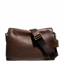BLEECKER LEGACY LEATHER COURIER BAG