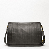 BLEECKER LEGACY EMBOSSED COURIER BAG