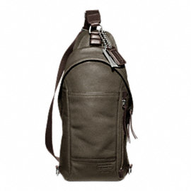 THOMPSON LEATHER CONVERTIBLE SLING PACK