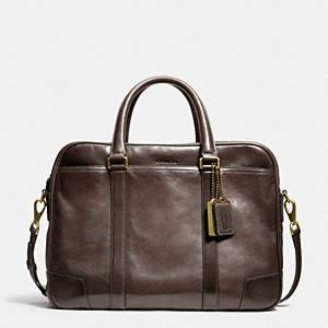 Coach - Bleecker Leather Commuter Mahogany