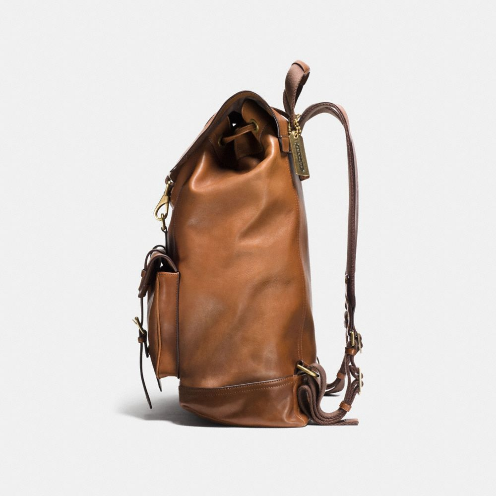 BLEECKER BACKPACK IN LEATHER - Alternate View A1