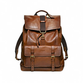 Bleecker Leather Backpack
