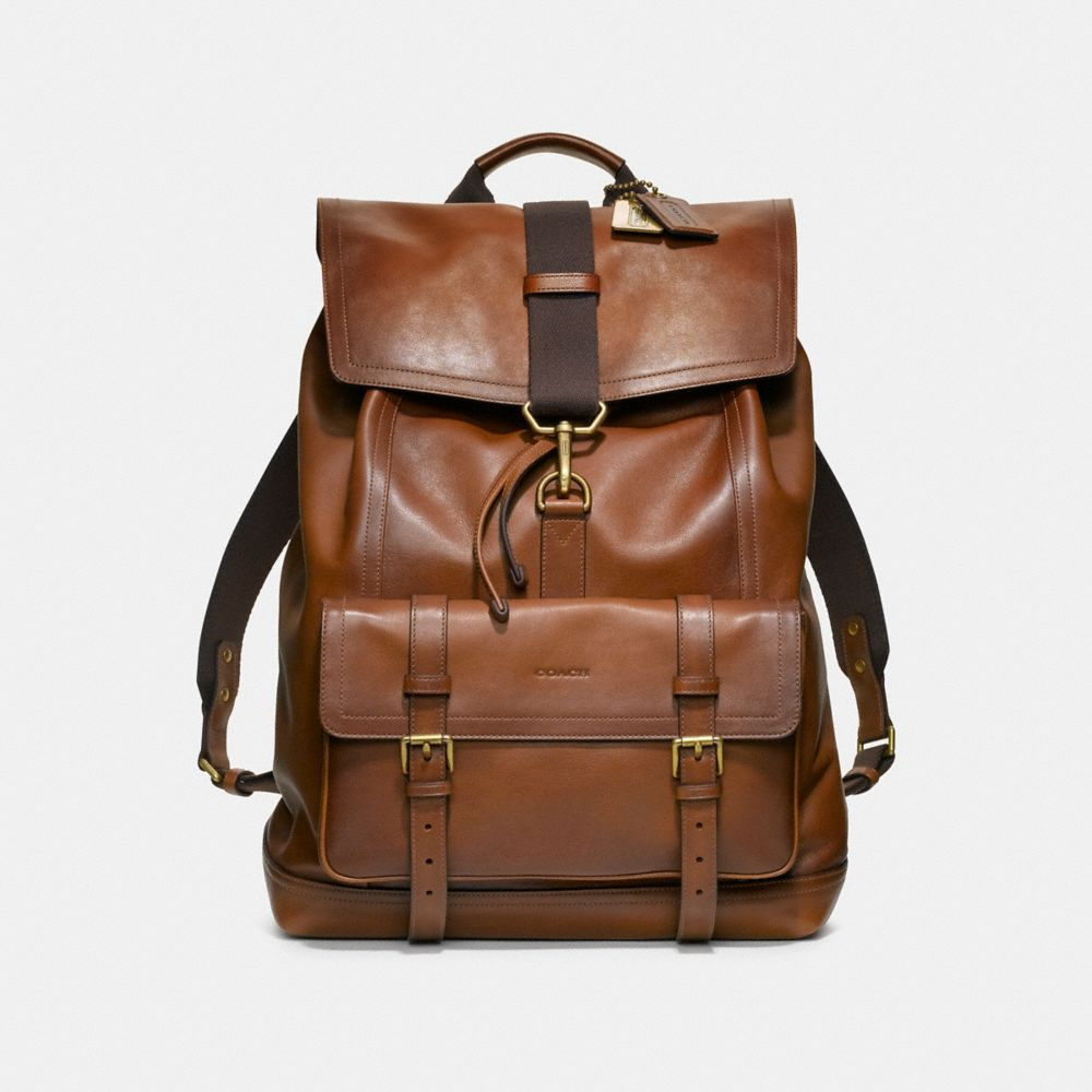 COACH Mens Leather Backpacks | Bleecker Backpack In Leather