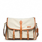 BLEECKER TOUGH CANVAS MESSENGER