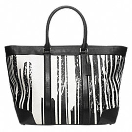 KRINK LEATHER WEEKEND TOTE