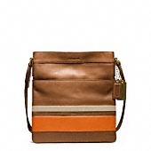 Bleecker Debossed Painted Stripe Scout Bag